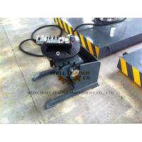 Manual Pipe Welding Positioners Round Table 0 - 120 Dgr Tilting By Hand Wheel Manufactures