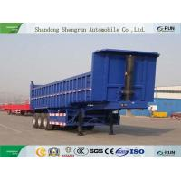 Shengrun Back Dump and Tipper Flatbed Truck Trailer with Box Manufactures