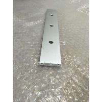 Silver Anodized 6061-T6 Aluminum CNC Machining Parts For Lasers Equipment Assembly Manufactures