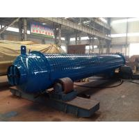 Silver Oil Fired Boiler Steam Drum SGS Certification Excellent Performance