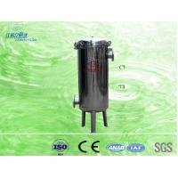 China Home Water Purification SS304 / SS316 Bag Filter For Water Treatment on sale