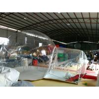 Commerical Inflatable Backpacking Tent 3.5m Fashion Outdoor Clear Inflatable Bubble Tent Manufactures