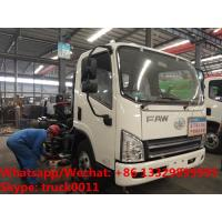 factory sale best price customized FAW 4*2 RHD diesel road washing and sweeping vehicle, road cleaning truck for sale Manufactures