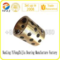 Buy cheap All size for copper bushing ,brass bushing, bronze bushing with graphite from wholesalers