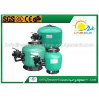 Water Treatment Swimming Pool Water Filter With Multiport Valve Easy Installation Manufactures