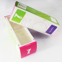Paper personalized Customized Boxes Printing with PVC Window for Packaging cosmetic Manufactures