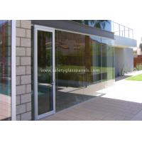 Low Iron 8mm Safety Tempered Glass Panels For Outdoor / Indoor /  Window Manufactures