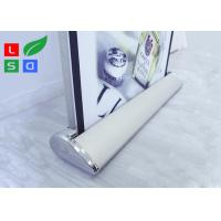 Quality Electric Motorised Roll Up Banner Stand Light Weight Scrolling Display For for sale