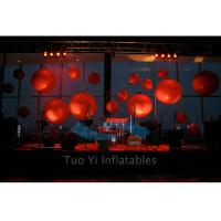 Trade Show LED Commercial Lighted Helium Balloon Show Advertising Manufactures