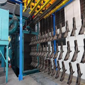 Q38  Lpg Gas Cylinder CE Hanger Type Shot Blasting Machine Manufactures