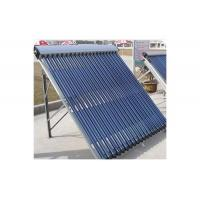 Heat pipe solar collector with solar keymark certification Manufactures
