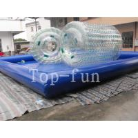 Transparent Inflatable Water Roller For Sea / Lake / Swimming Pools Manufactures