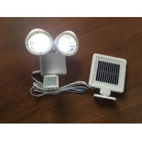 PIR Passive Infrared Solar Powered LED Flood Lights For Garden / Park Manufactures