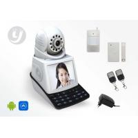 Quality Mini P2P Wifi Pan / Tilt / Zoom Two Way Audio  CCTV Baby Monitor IP Camera for sale