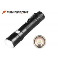 Zoom USB Rechargeable LED Flashlight Pocket Light with 5 Light Modes Manufactures