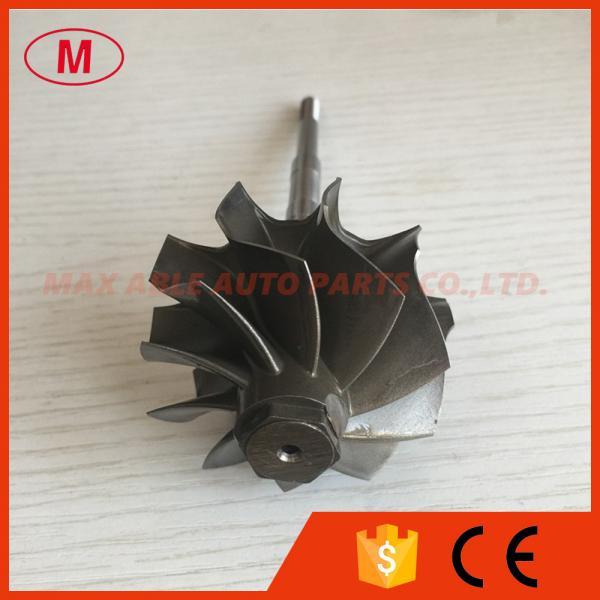 Quality GT2835R 51.80/56.55mm 10 blades ball bearing turbo turbine wheel shaft / turbine shaft&whe for sale