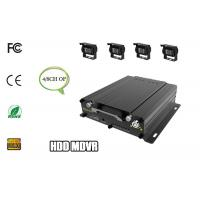 4ch Hard Disk Mobile DVR Car GPS Tracking System Remote View WIFI 3G Car Monitoring Manufactures