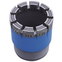 NWG Double Tube Diamond Core Drill Bit For Wet / Dry Drilling High Drill Speed Manufactures