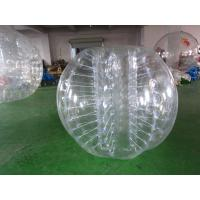 China 0.8mm PVC Inflatable Bumper Ball Conforms With CE For Sport Games on sale