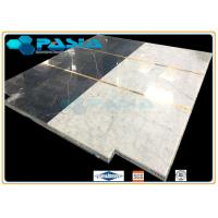 Water Jet Cut and Jointed Pattern Marble Stone Honeycomb Mosaic Tile for Commercial Elevator Floor Manufactures