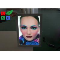 Poster Size A0 A1 LED Outdoor Light Box Uniform Lighting With Lockable Swing Frame Manufactures