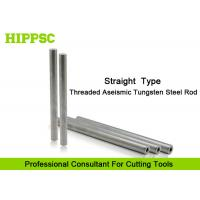 Cutter Head Solid Carbide Rod with Tungsten Steel materials , Straight Shank Type Manufactures