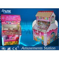 LCD Screen Coin Operated Amusement Machines / Candy Crane Claw Machine 2 Player Manufactures