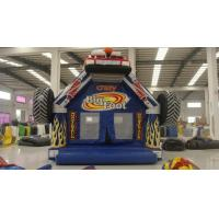 2017 Crazy Car Giant Inflatable Bounce House Kids Favourite Inflatable Air Jumper Car Truck Manufactures