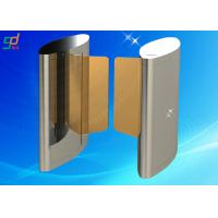 Speed Turnstile Gate 12 Pairs Of IR Sensor Auto High Speed Doors Manufactures