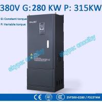 250kw 280kw Low Voltage frequency converter motor pump 50Hz/60Hz AC drive CNC Variable-Frequency Drive VFD AC-DC-AC Manufactures