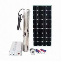 1500W DC Solar Water Pump System with Head of 66m and Maximum Flow of 6 Stereo/Hour Manufactures