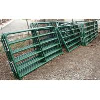 4ft x 9ft Cattle Horse yard panels for Unite States Farm 40mm tubing cattle fence panels Manufactures