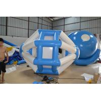 Green And Durable Inflatable Water Toys , Water Inflatable Rock Climbing Wall Manufactures