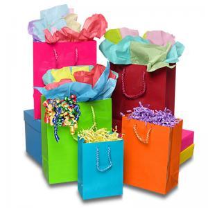 Matte Laminate Jewelry Gift Bags / Custom-printed Jewellery Paper Bag Manufactures
