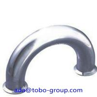 Butt Welding Pipe Fittings Carbon Steel Elbow 180 Elbow For Petroleum , Chemical Manufactures