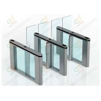 Optical Half Height Automatic Turnstiles Swing Door For Access Control System Manufactures