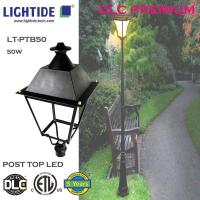 Quality DLC Qualified Outdoor LED Path Lights 50W 347VAC 5000K with 5 yrs warranty for sale