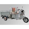 48V 800W Motor Electric Three Wheel Motorcycle 3 Wheel Cargo Motorcycle Steel Wheel Manufactures