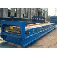 Steel Roll Shutter Door Forming Machine , Door Frame Roll Forming Machine  Manufactures