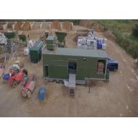 Large Mobile Packaging System Solution For Nonmetallic Mineral Quarries Full Automated Manufactures