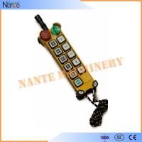 Buy cheap Digital Wireless F24 Series Crane Remote Control Over The Whole World from wholesalers
