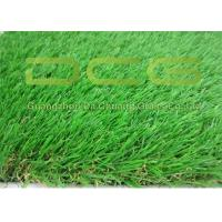 Beautiful Artificial Green Grass / Realistic Fake Grass Excellent Durability Manufactures