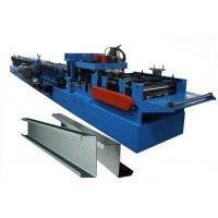 100-300 mm C Z Purlin Roll Forming Machine Of Galvanized Steel Strip or Carbon Steel Use Rexroth Bosch Valve Manufactures
