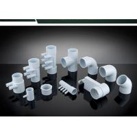 PVC Plumbing Parts Plastic Water Distribution Manifold , Tee , Elbow For Connecting Manufactures