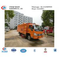 factory sale forland small RHD road sweeper truck for sale,best price FORLAND RHD street sweeping vehicle for sale Manufactures