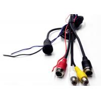13 Pin To 4 Pin Aviation / RCA BNC Extension Cable For Car CCTV Video / Audio Manufactures