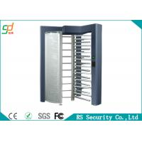 Smart Electric Access Full Height Turnstiles Automatically Dual Passage OEM Manufactures