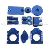 CNC Milled  MX Bling Kit / Dirt Bike Spare Parts Yamaha WRF450 Manufactures