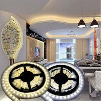 Cuttable SMD 5050 Rgb Flexible Led Strip , Outdoor Led Strip Lights 84 Leds / M Manufactures