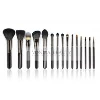 Natural Hair Makeup Brushes Set Essential Makeup Brush Tools Private logo Manufactures